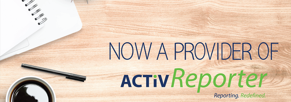 Now Offering ActivReporter to Dynamics GP Clients