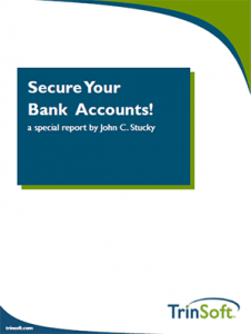 secure your bank accounts