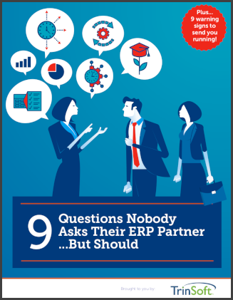 9 questions to ask ERP partner