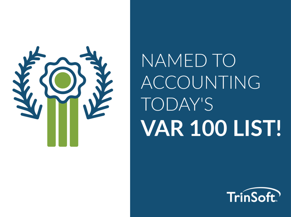 TrinSoft Named to Accounting Today's 2020 VAR 100 List