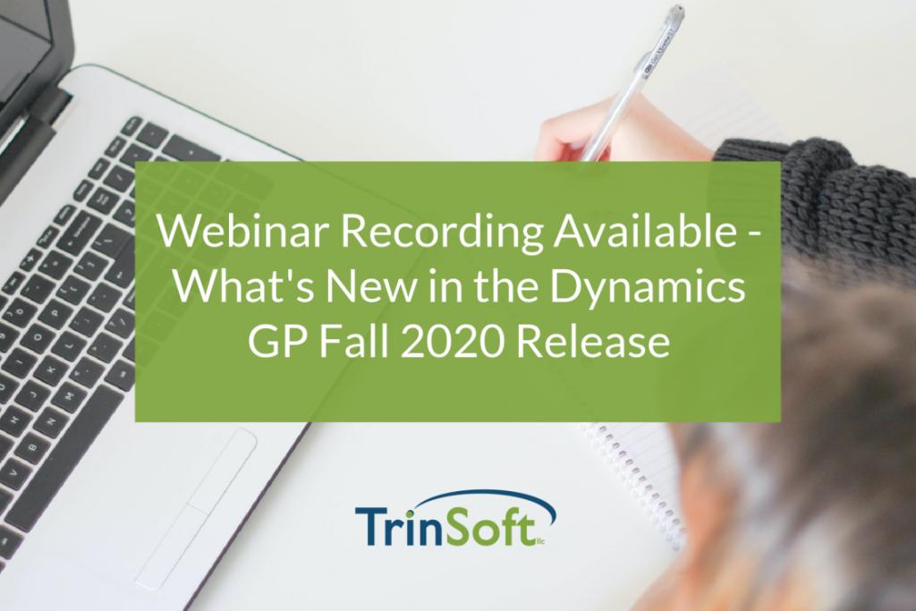 GP Fall 2020 webinar recording
