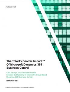 Economic impact of D365 BC