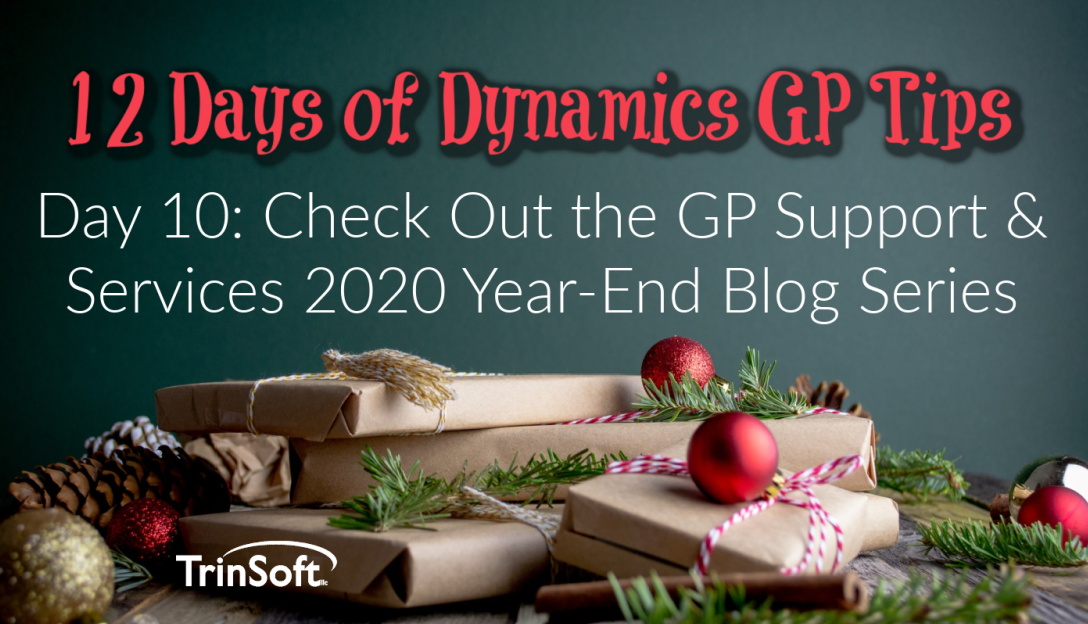 GP Year-End Tips