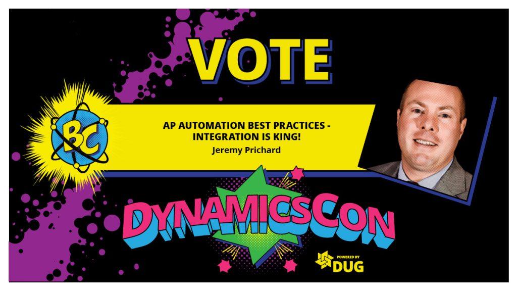 Vote DynamicsCon 2021 Sessions