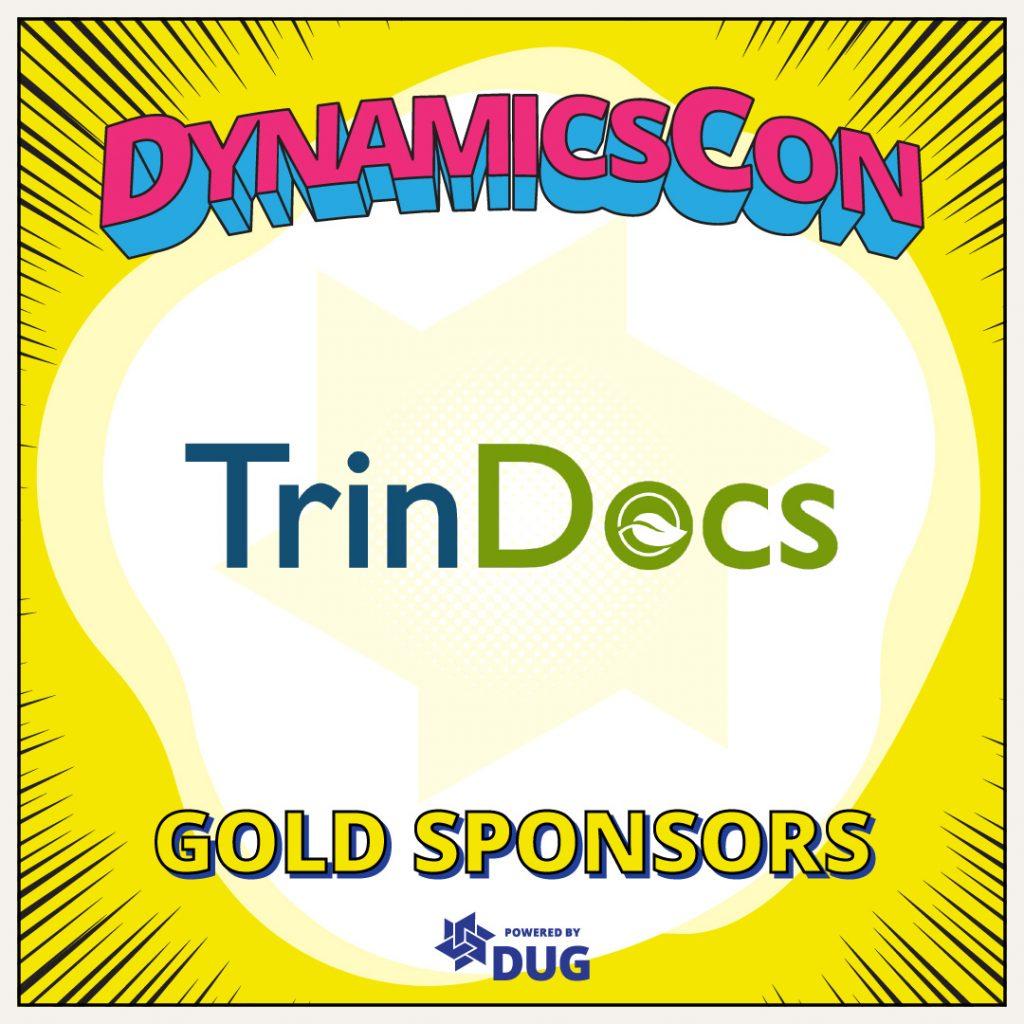 TrinDocs Gold Sponsor DynamicsCon 2021
