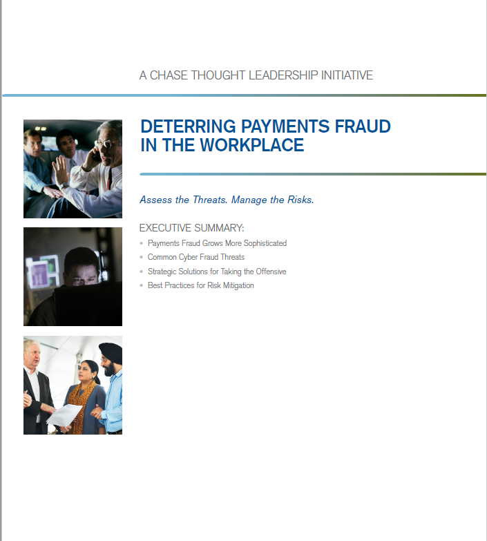 Deterring Payments Fraud in the Workplace whitepaper