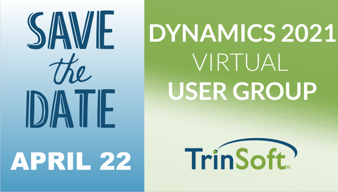 Dynamics 2021 Virtual User Group