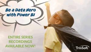 Power BI Webinar Series Recordings