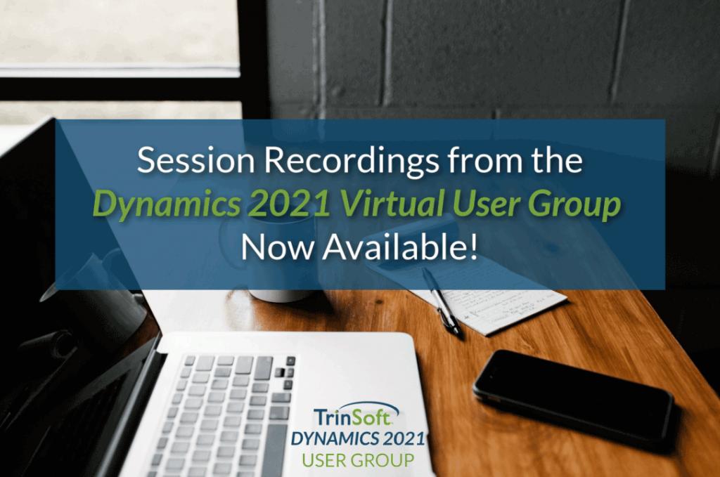 Dynamics User Group Recordings
