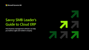 Cloud ERP Business Leader Guide