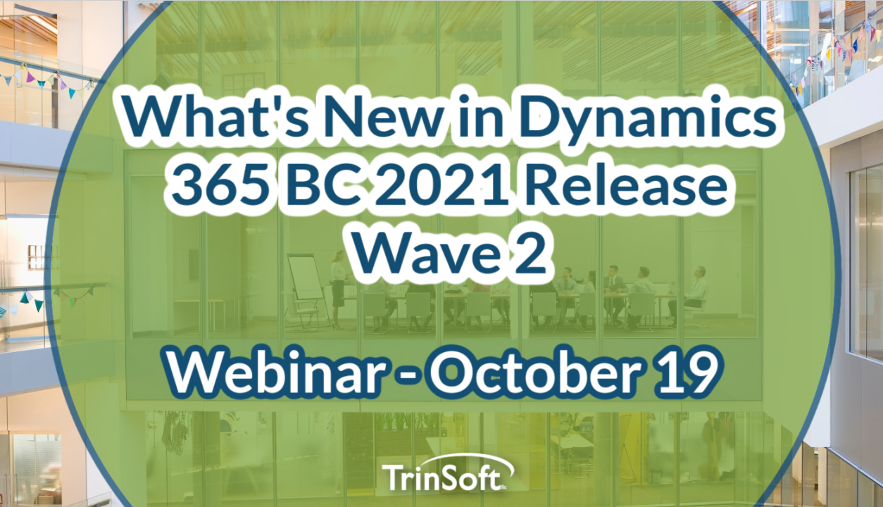 D365 BC Fall 2021 Release